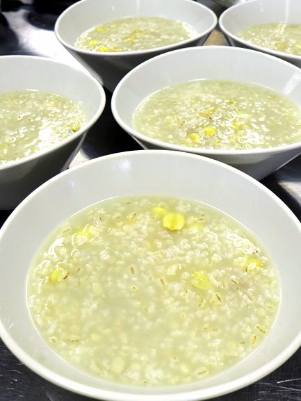 蓮子小麦粥