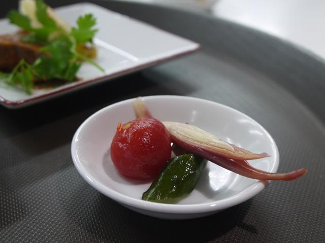 初夏の野菜の甘酢漬け