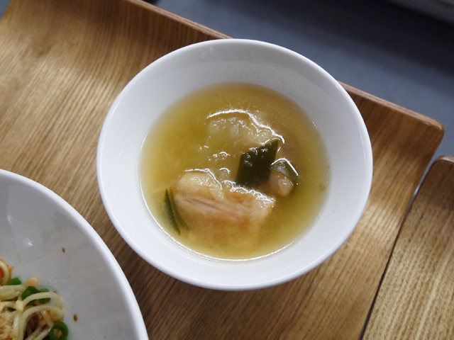 冬瓜と揚げ肉のスープ