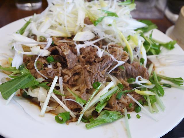 孜然牛肉麺 1,080円