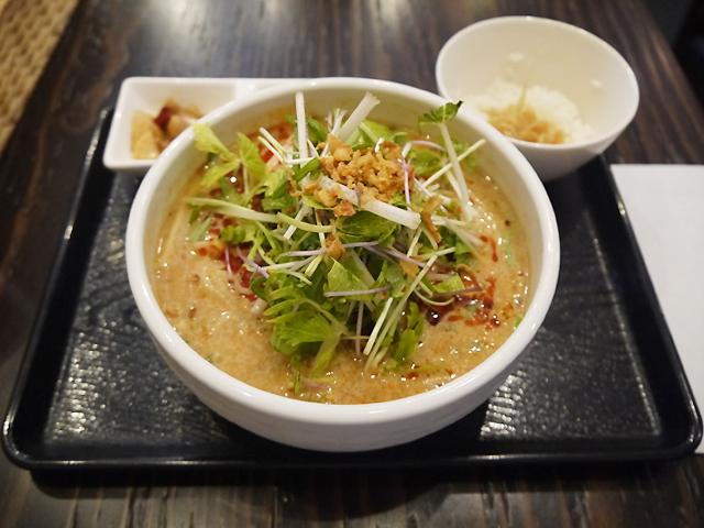 豆漿涼担担麺(冷やし豆乳担々麺)1,000円