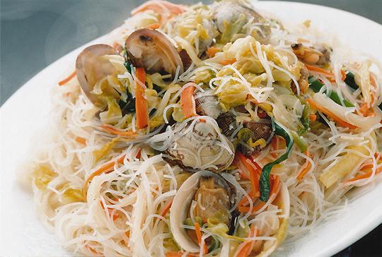 蛤蜊炒米粉