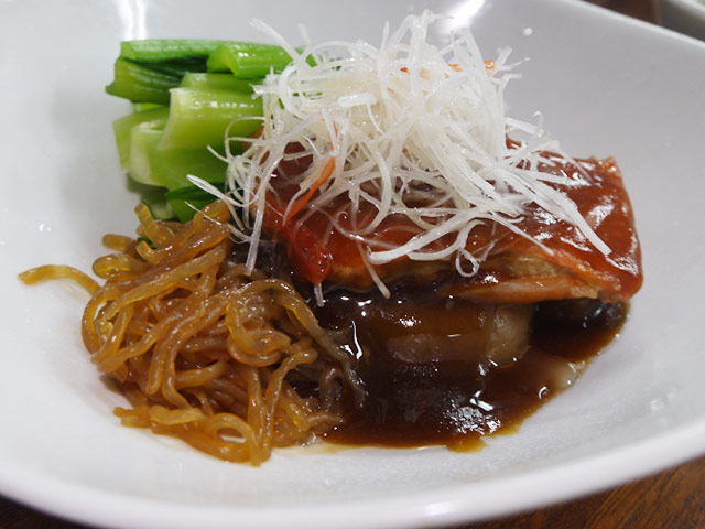 B:伊豆稲取産金目鯛の漁師煮