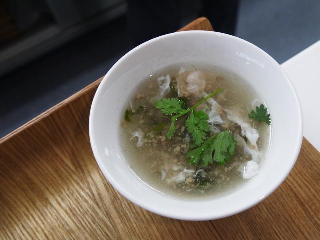 羊の挽き肉スープ