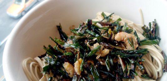 葱油拌麺(葱油拌面/葱油のあえそば)