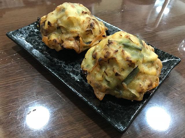 海蛎饼(ハイニービン)