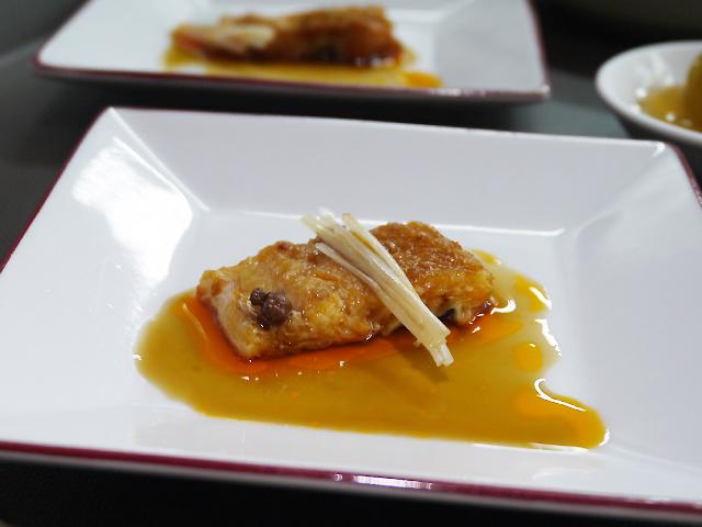 穴子の漢方ミカン香料煮