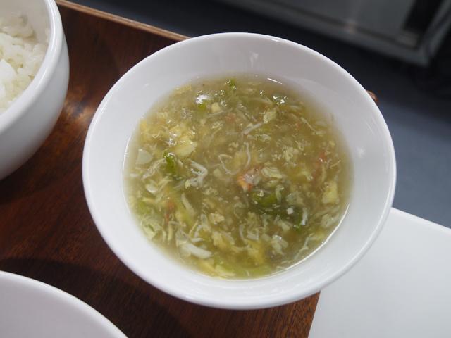 沖縄産へちまとズワイカニのとろみスープ