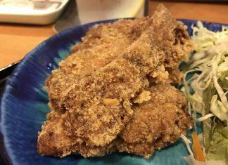 馬喰横山「夕かお」の台湾ジーパイ定食750円