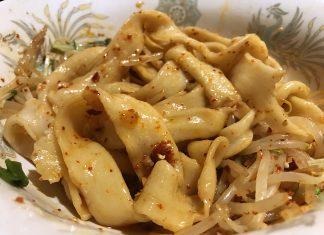秋葉原「慶」のユーポービャンビャン麺800円
