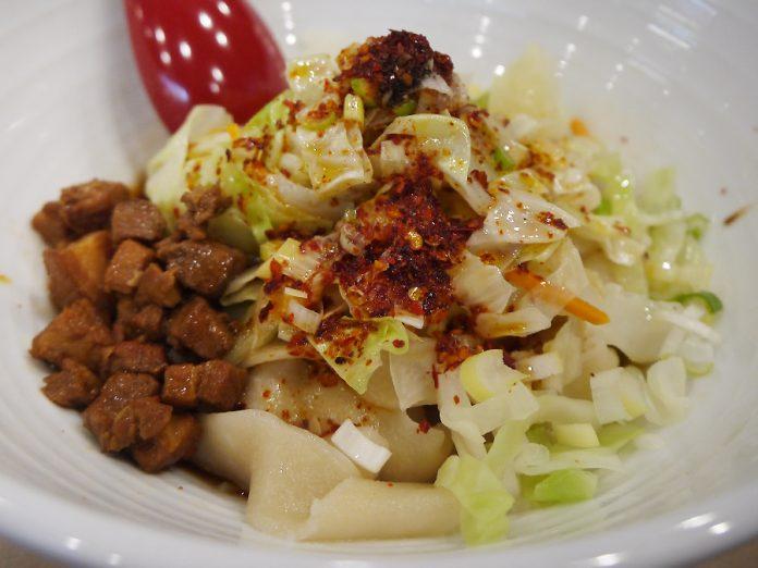 「西安麺荘 秦唐記」のヨウポー麺850円