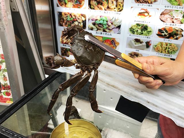 大闸蟹(モクズガニ)