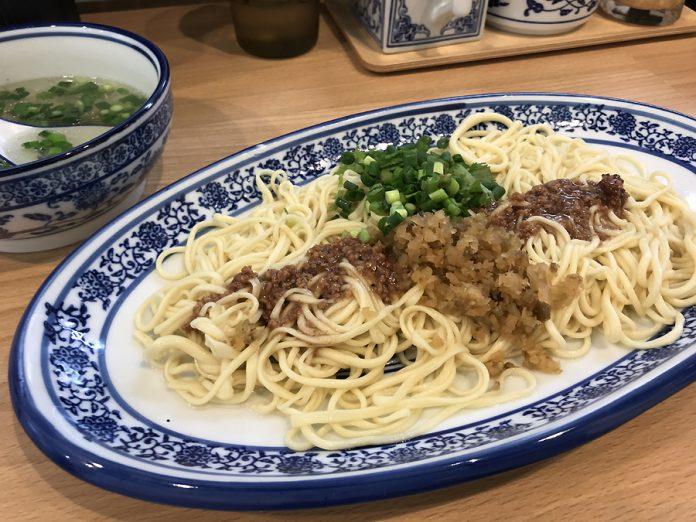 水天宮前「西北拉麺(シーベイラーメン)」の牛肉拌麺