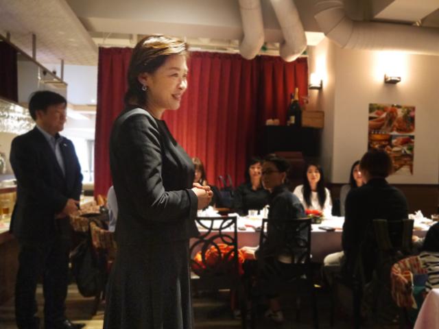 株式会社全聚徳ジャパン 劉岩(リュウ ヤン)代表取締役社長