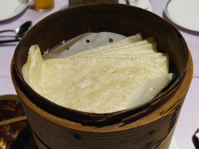 北京ダックの包み皮「烤鴨餅(カオヤービン)」