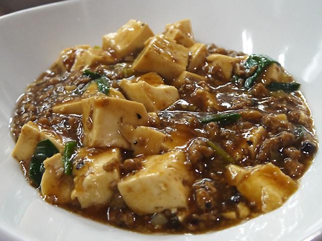 B:麻婆豆腐