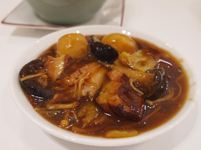 B:里芋と豚トロのやわらか熱々壷焼き