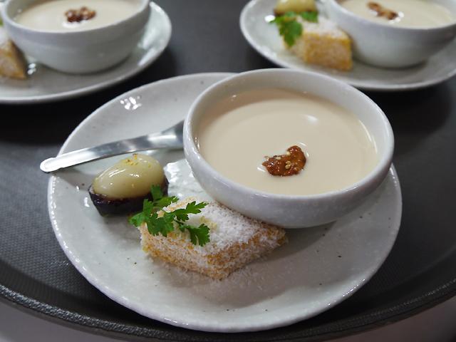 羅漢果プリン/南瓜のココナッツデザート/ナツメのもち詰め 桂花糖衣