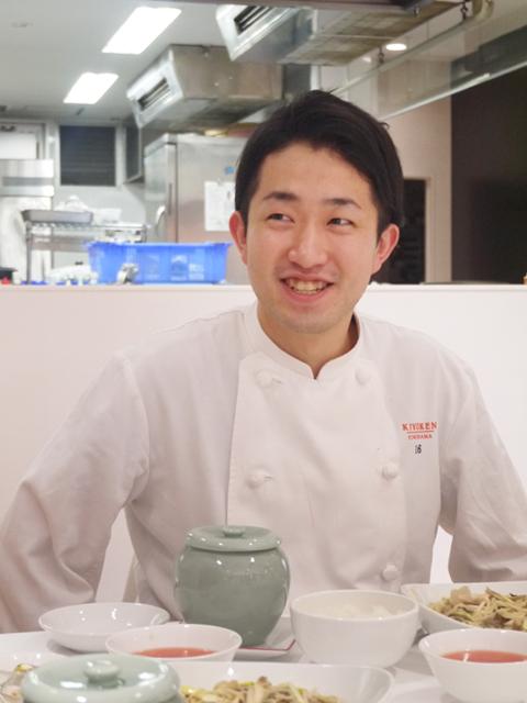 横浜「崎陽軒本店 中国料理 嘉宮」石崎凌祐シェフ