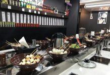 新小岩「中華美食 串串香」の回転火鍋