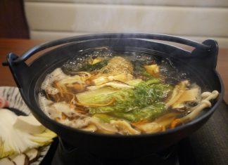 上野「何鮮菇(ホーシェング)」のキノコ鍋980円