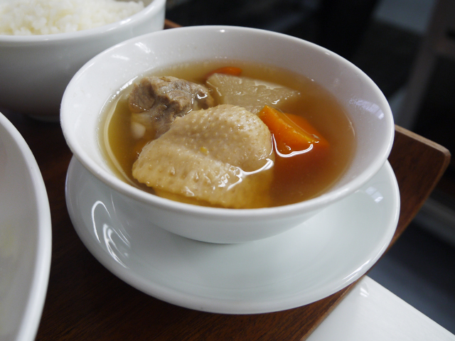 香港風とろ火炊き込みスープ