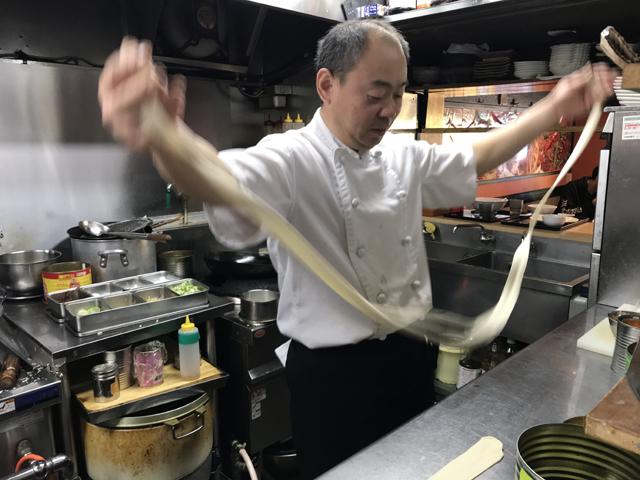 西安出身の厨師